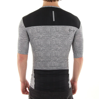 Compression (Tight) Tee/Grey Marle