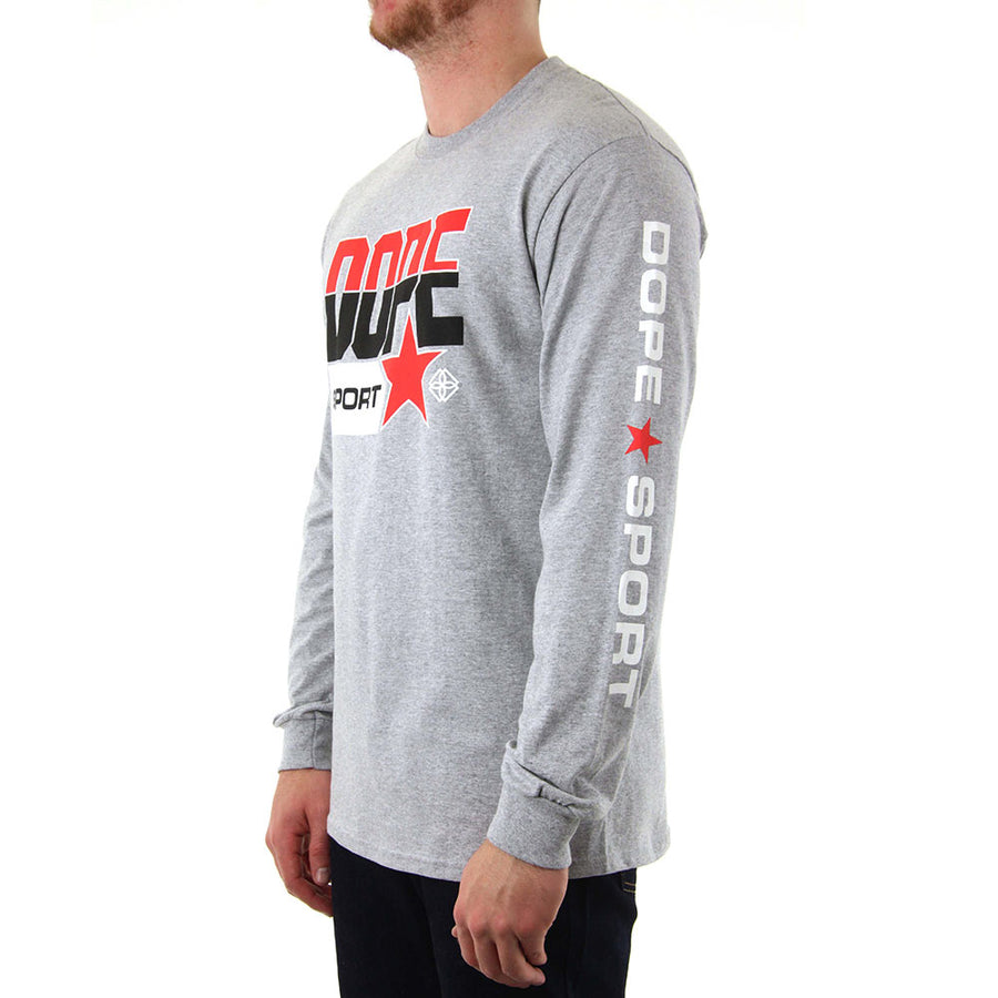 Quarter Final - GREY Long Sleeve Tee