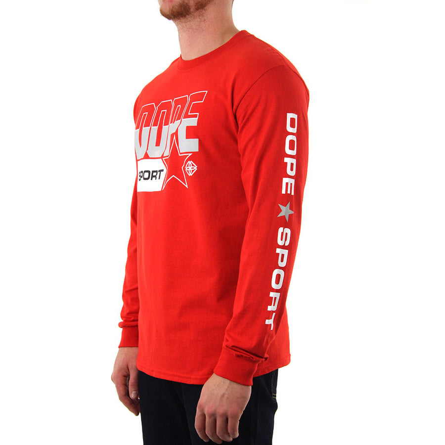 Quarter Final - RED Long Sleeve Tee