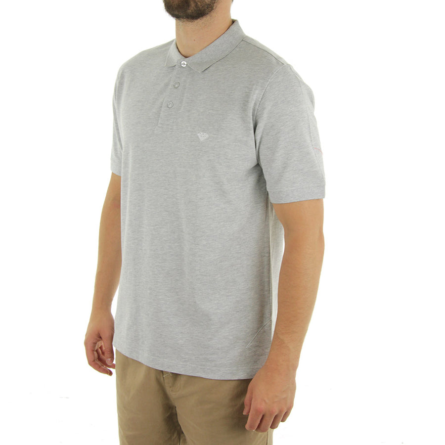 Pavilion Polo Tee/Heather Grey
