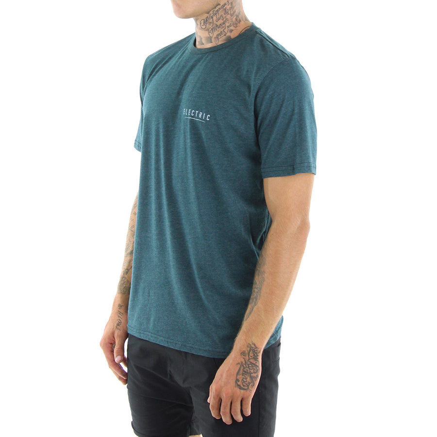 Electric Undervolt Tee/Green Marle