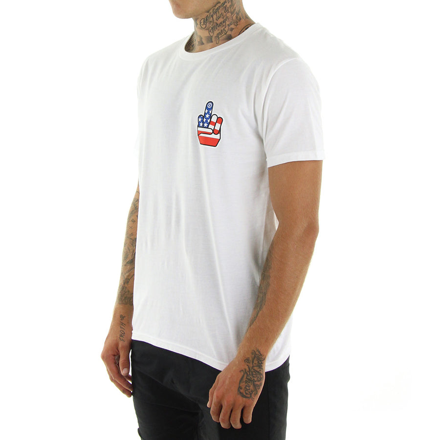 No War Tee/White