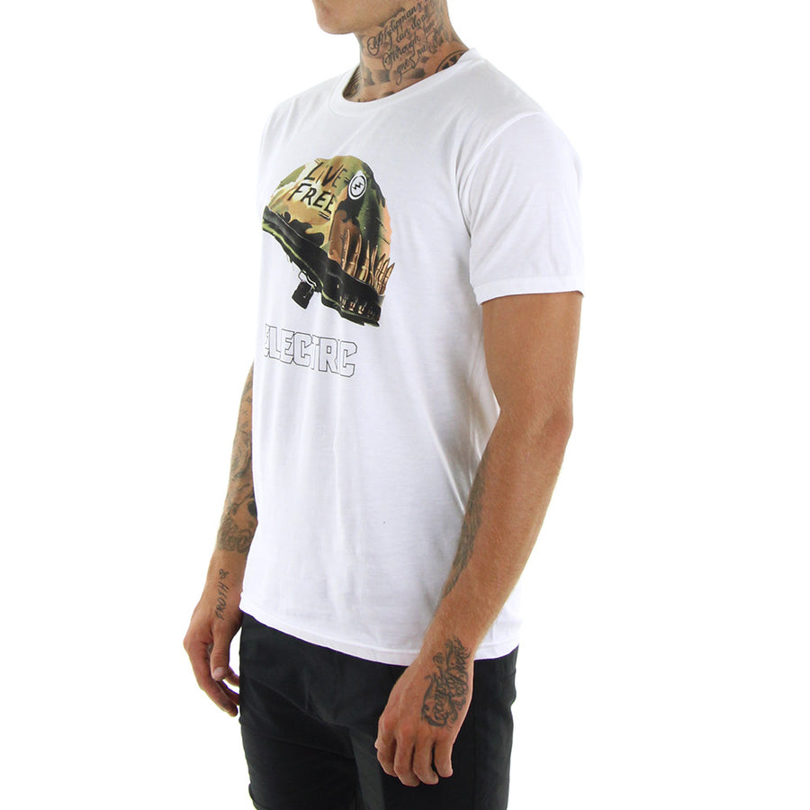 Full Metal Tee/White