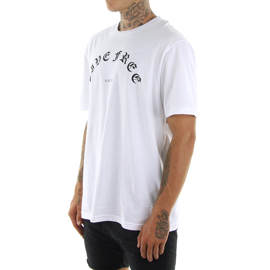 Blackout Tee/White