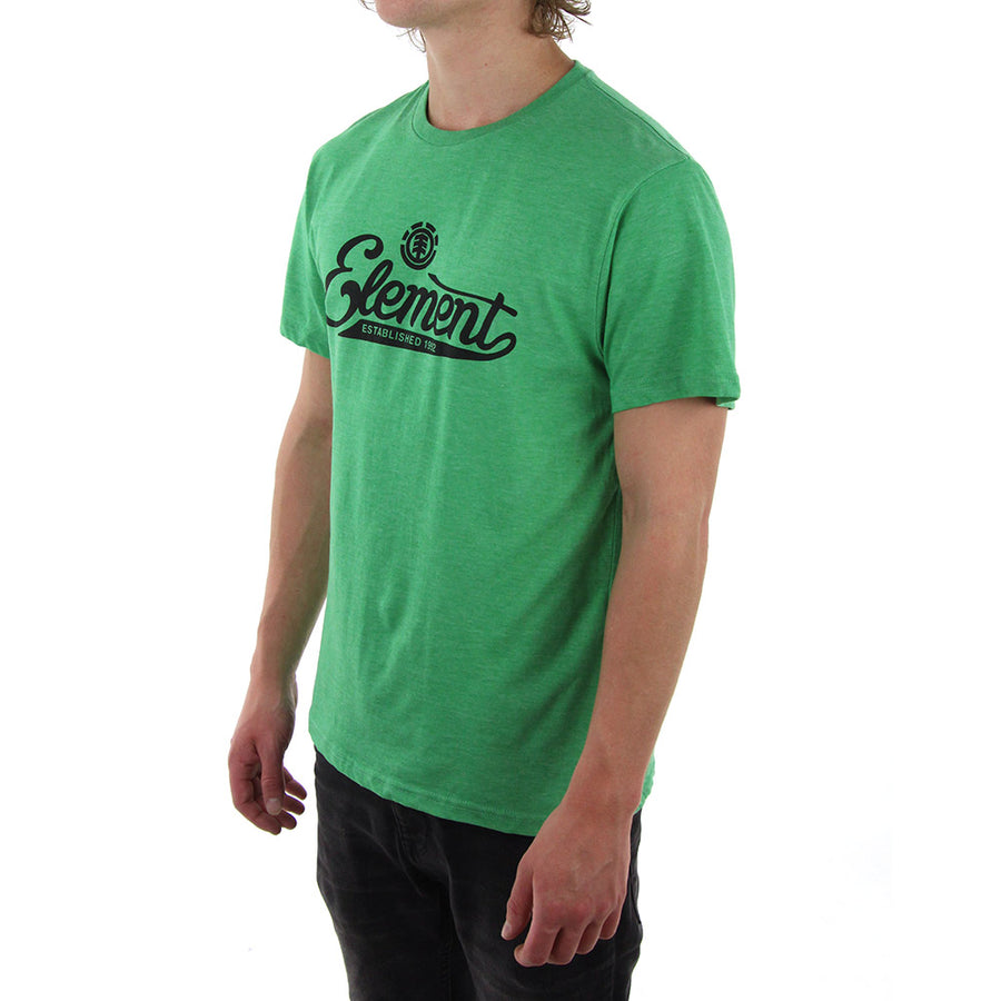 Signature Tee/Green Marle