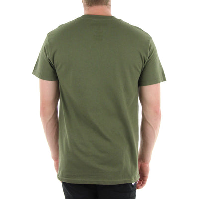 Icon Outline Tee/Military