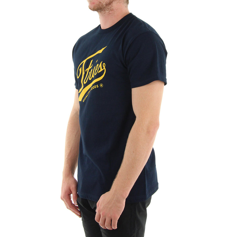 Home Game Tee/Navy/Yellow