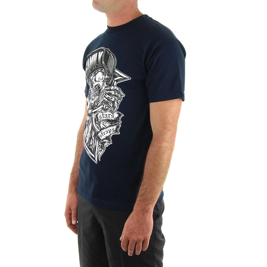 Creeper Tee/Navy