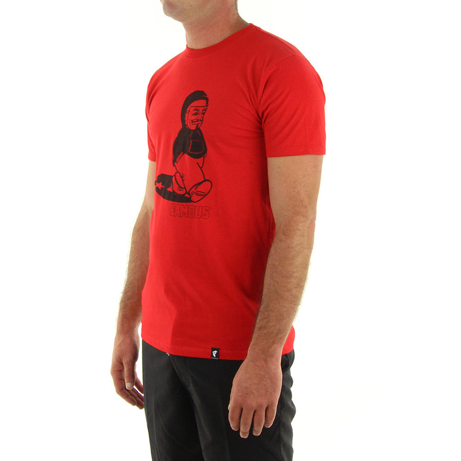 Anonymous Tee/Red