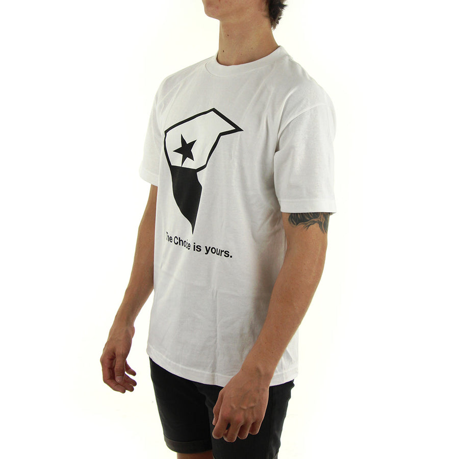 FMS Badge Tee/White