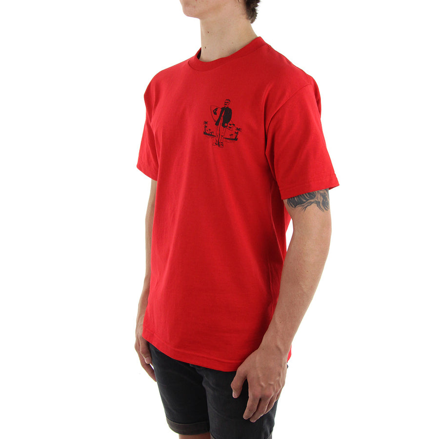 Surf Club Tee/Red
