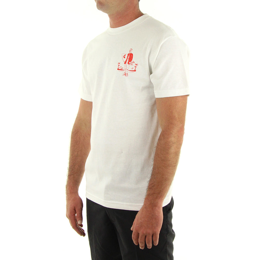 Surf Club Tee/White