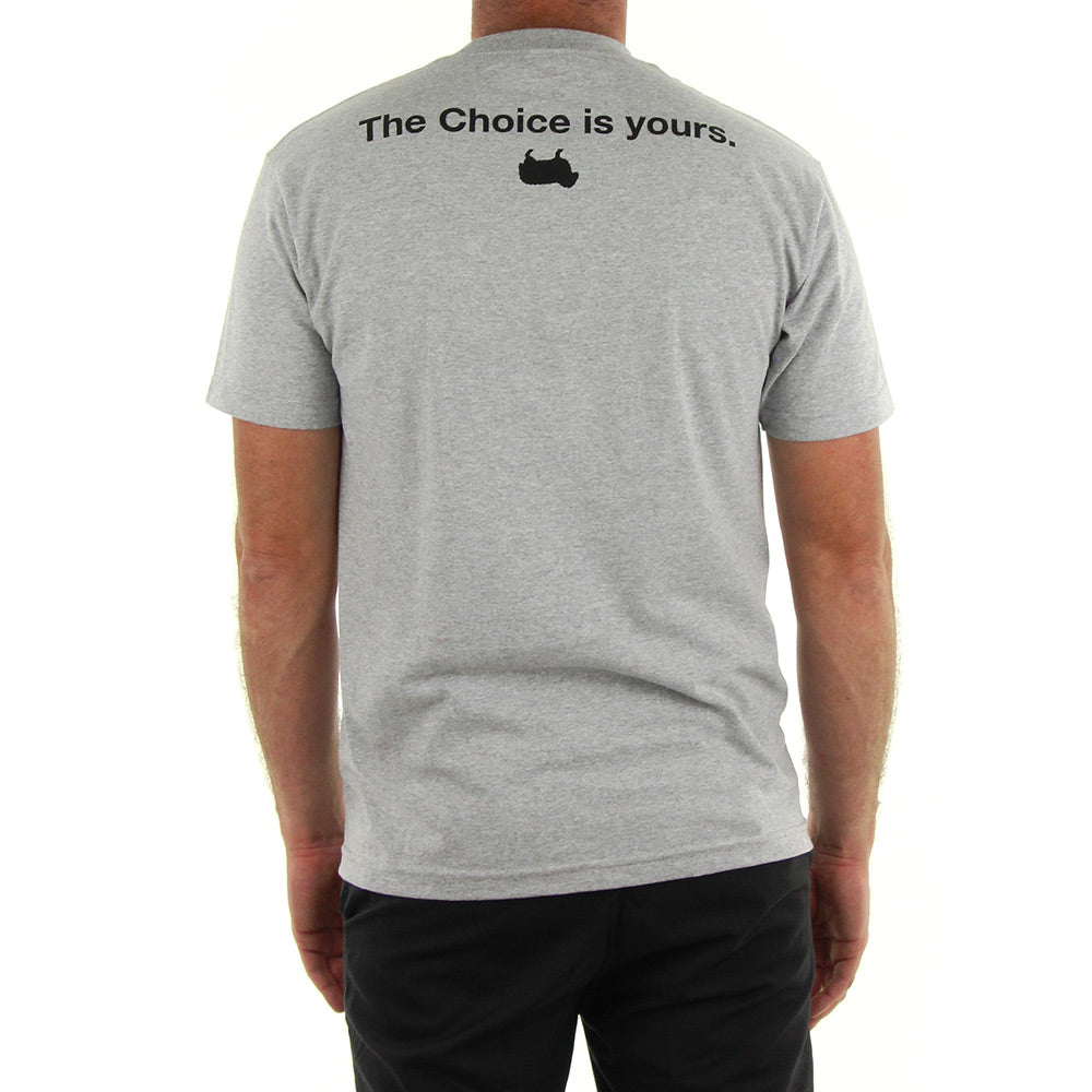 d4b98b566a4 Buy Choice is Yours Tee/Heather Grey Online in New Zealand - LAST SEASON  LIMITED