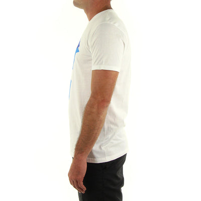 Listed Tee/White/Blue