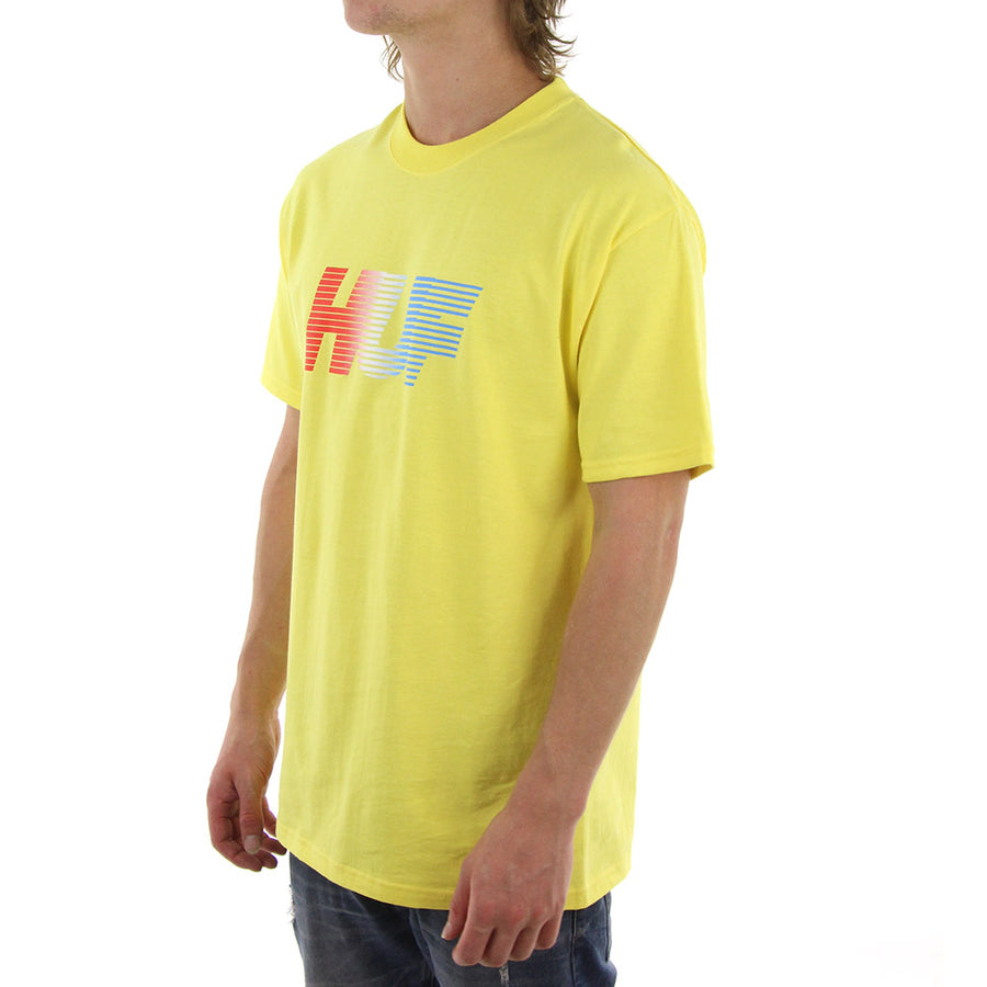 10K Gradient Tee/Yellow