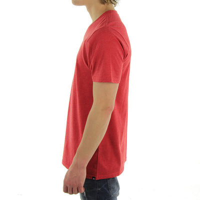 Staple V - Neck Tee/Red
