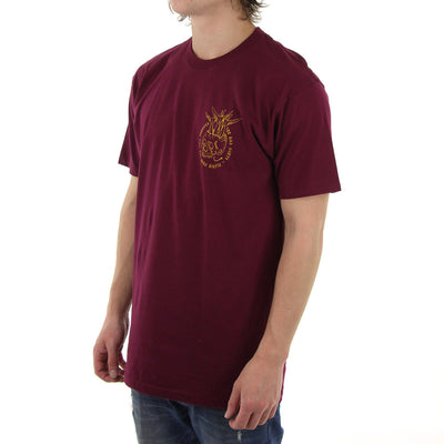 Flairin From Now Till Forever Tee/Maroon