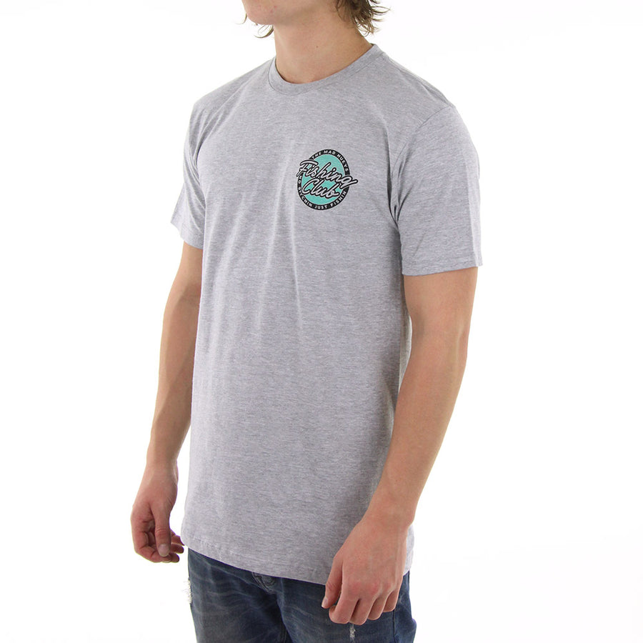 Fishing Club Tee/Grey