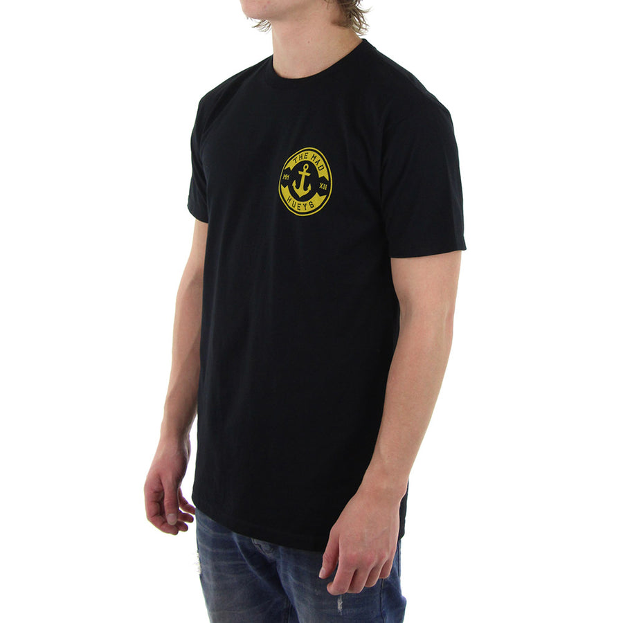Anchor Crest Tee/Black