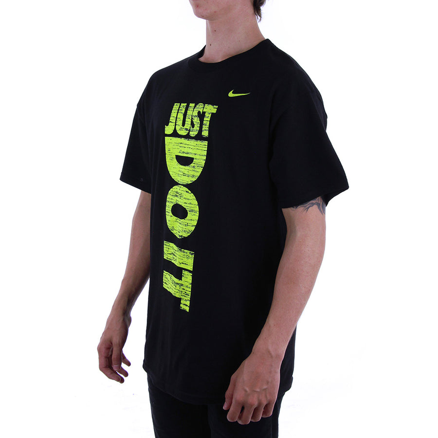Regular Fit Tee/Black/Fluro