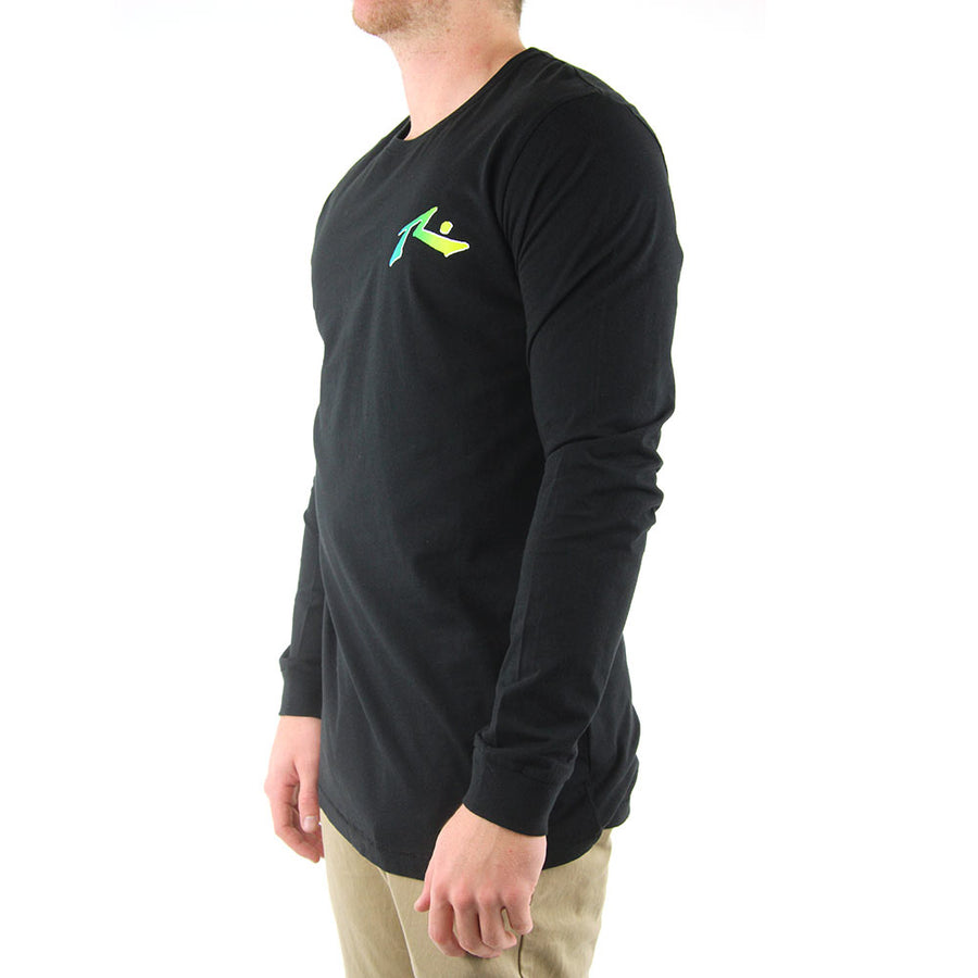 TV Screen 4  Long Sleeve Tee
