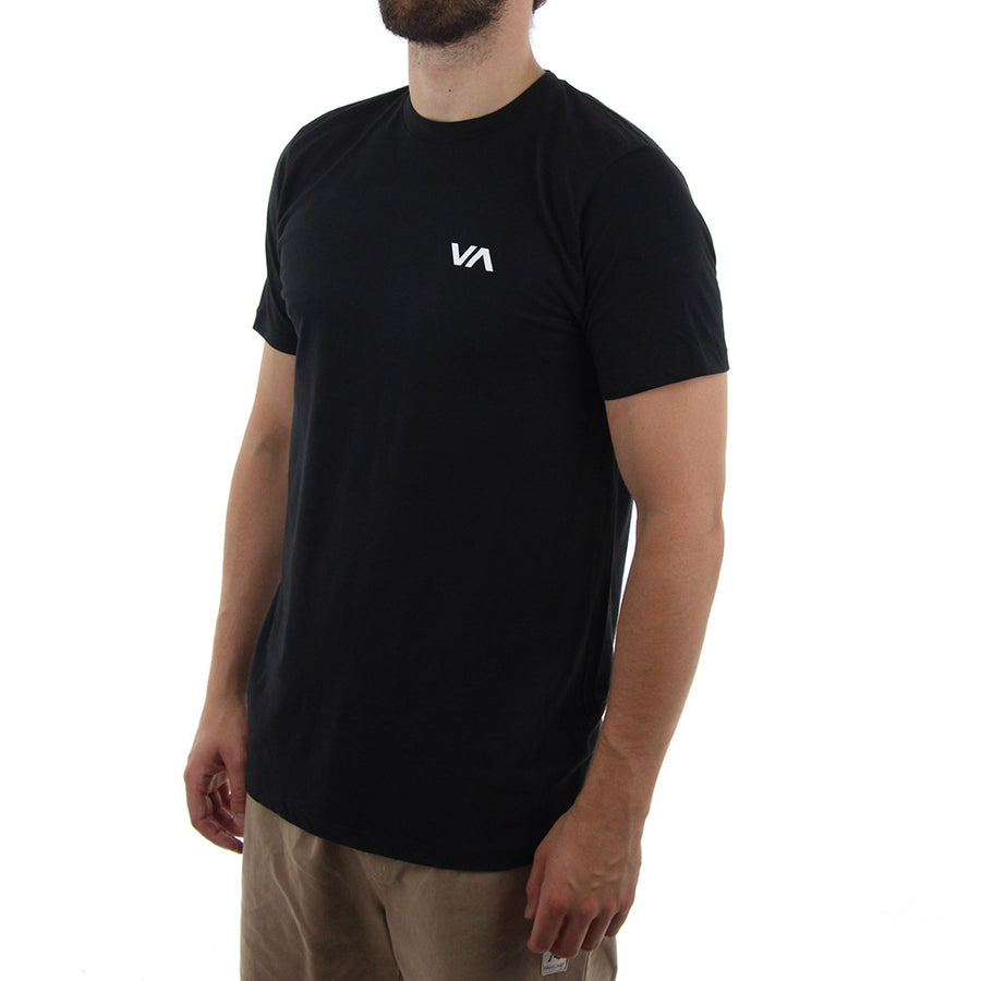 Chest Logo Staple Tee/Black
