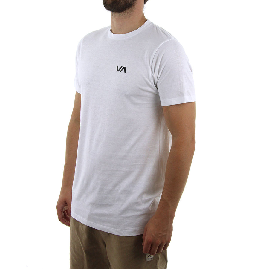 Chest Logo Staple Tee/White