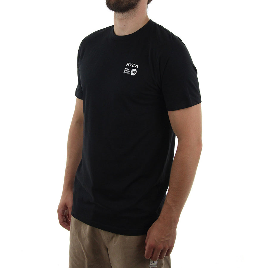 ANP Chest Logo Tee/Black