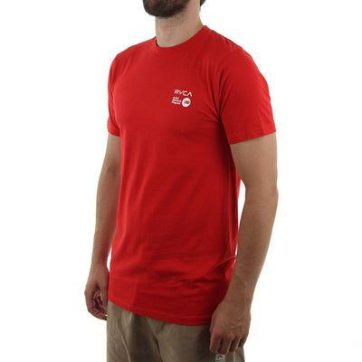 ANP Chest Logo Tee/Red