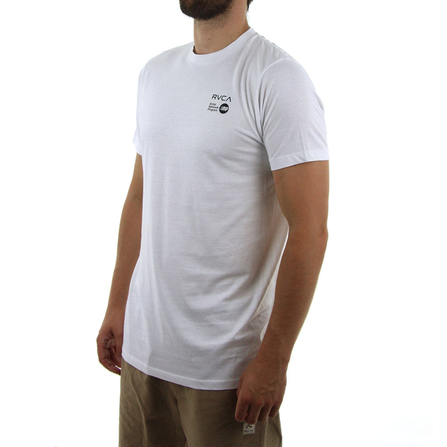 ANP Chest Logo Tee/White