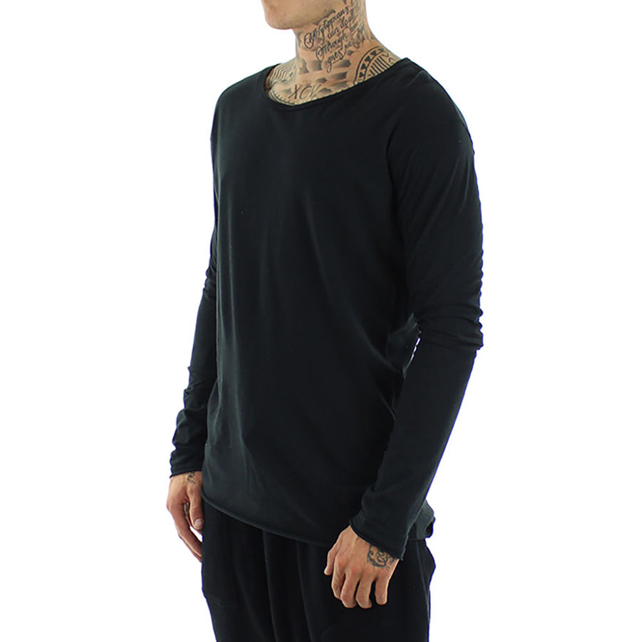 Crew Tail Long Sleeve Tee