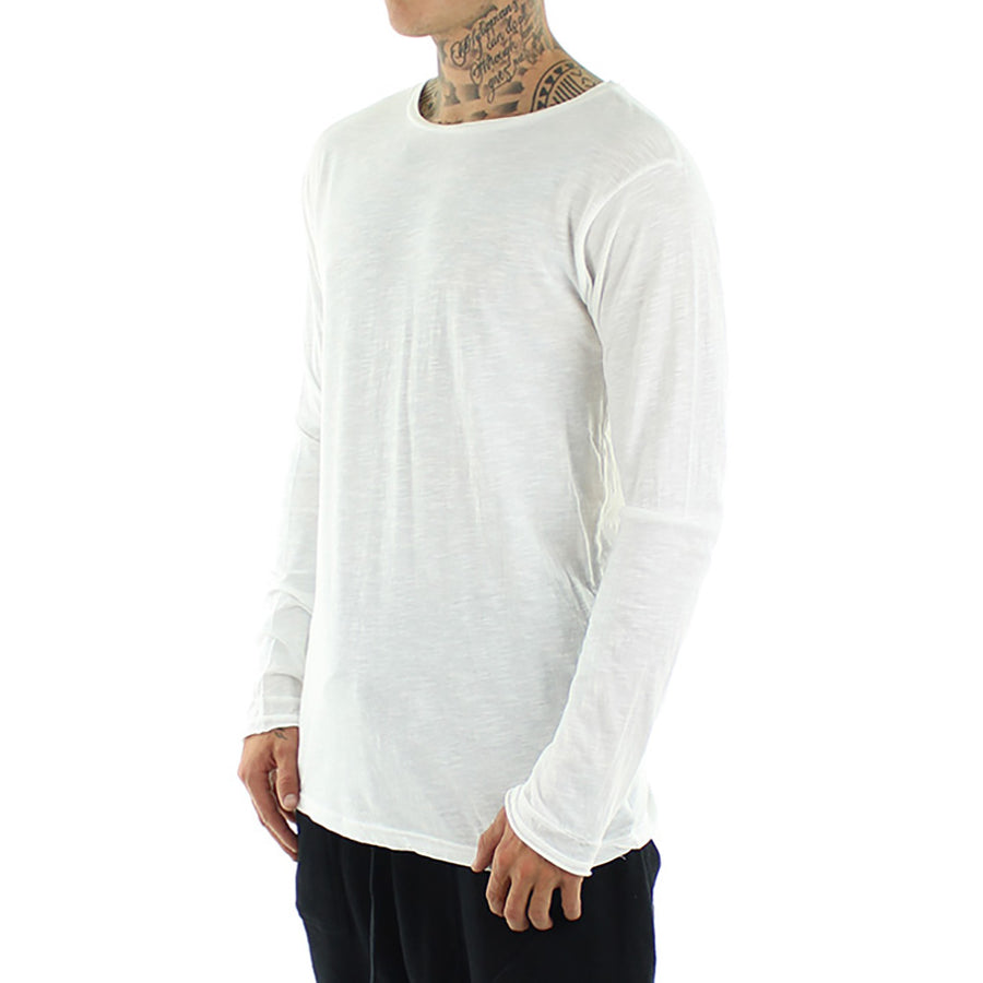 Basic Tail Long Sleeve Tee