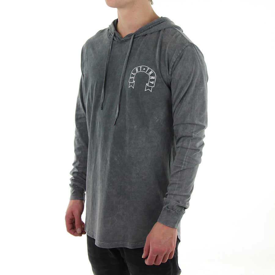 Thesis Long Sleeve Tee/Grey