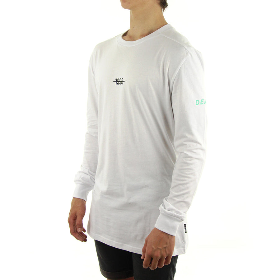 1996 Longsleeve Long Sleeve Tee/White