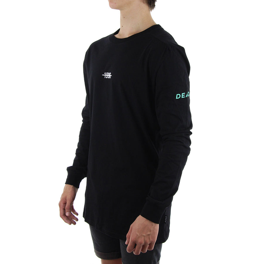 1996 Mint Long Sleeve Tee/Black