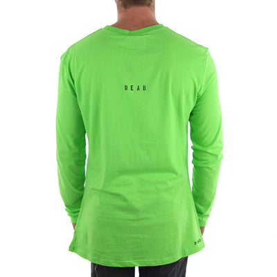 Excess L/S Long Sleeve Tee/Lime