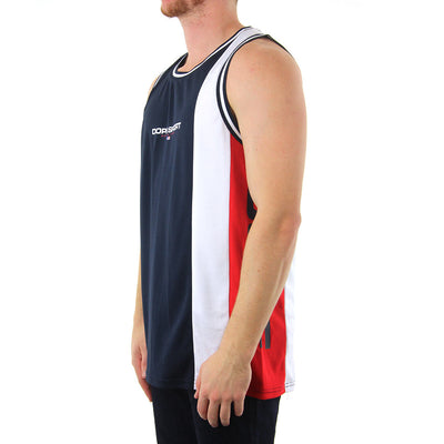 National - NAVY/WHITE/RED Tank