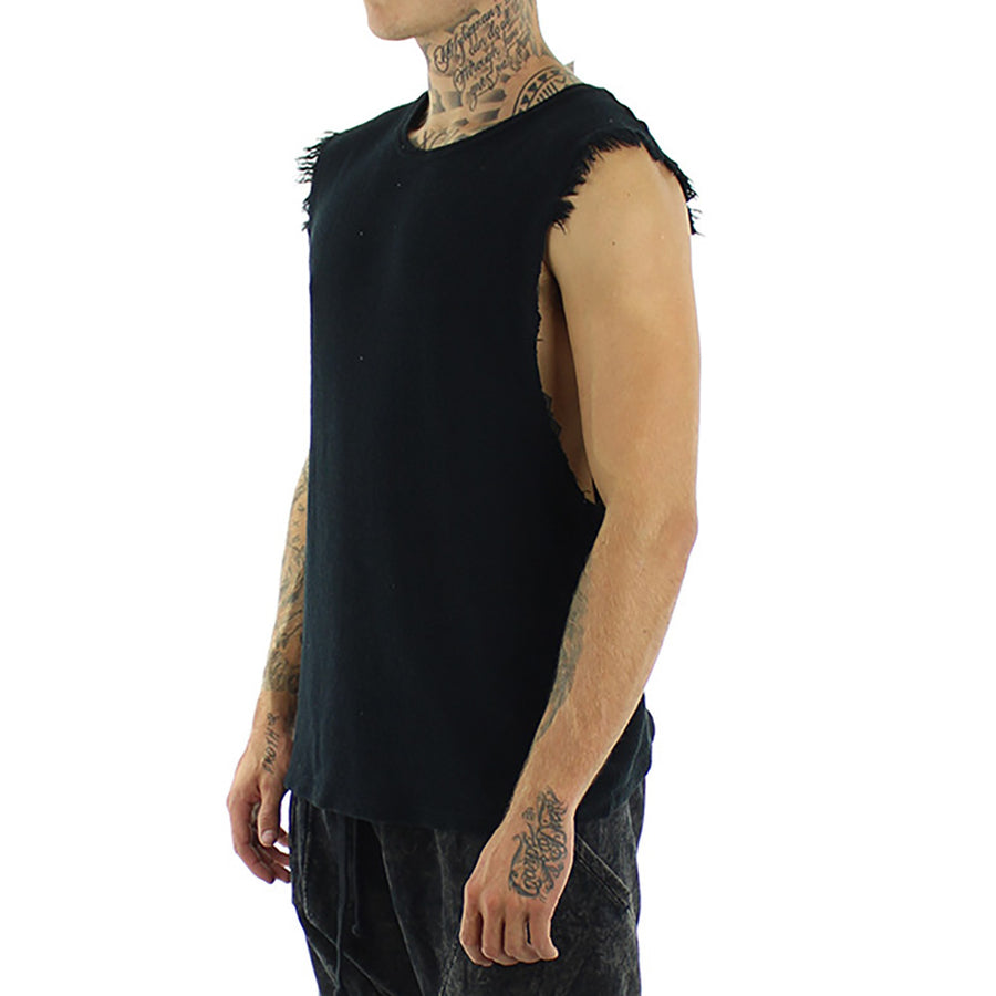 Ripped Sleeve Tank