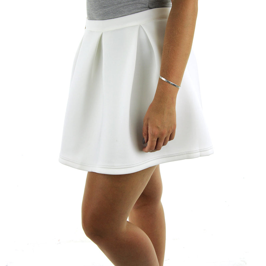 Nuwave Mini Skirt/White