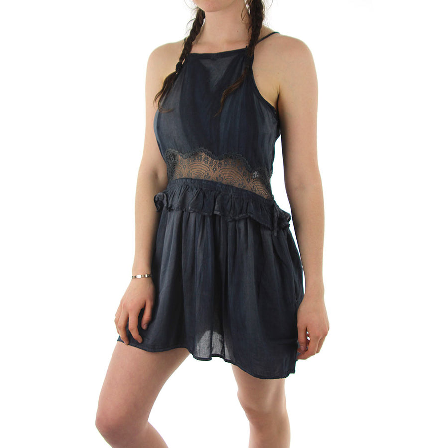 Lace Tank - Draw String
