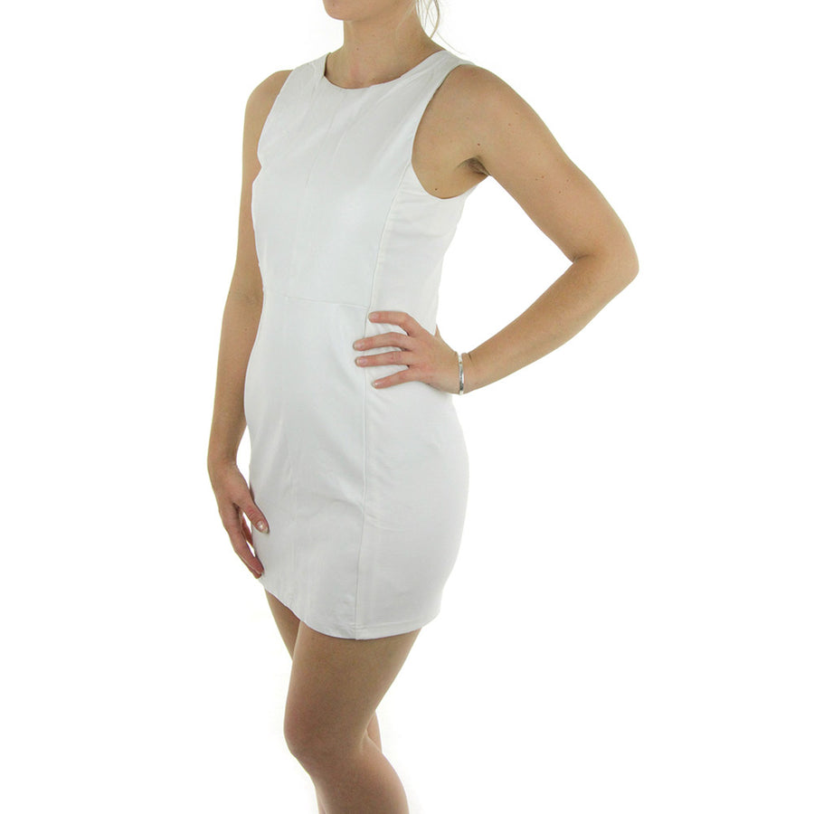 Exceeder Dress/White