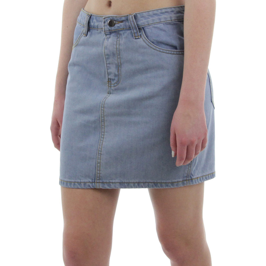 Ever Denim Skirt/Blue Denim