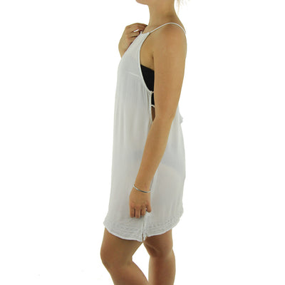 Bungalow Dress/White