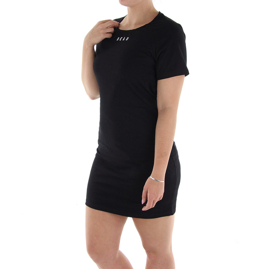 Cross Minds Dress/Black