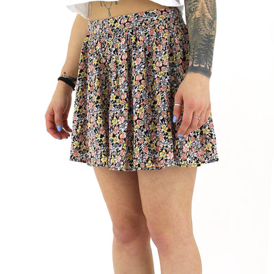 Floral Skirt/Coral