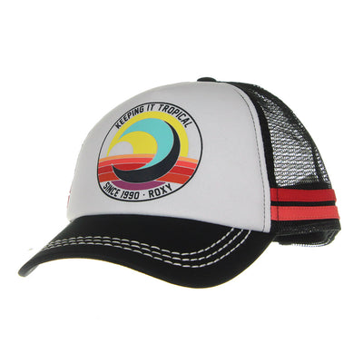 Keeping It Tropical Women's Hat/Black/White