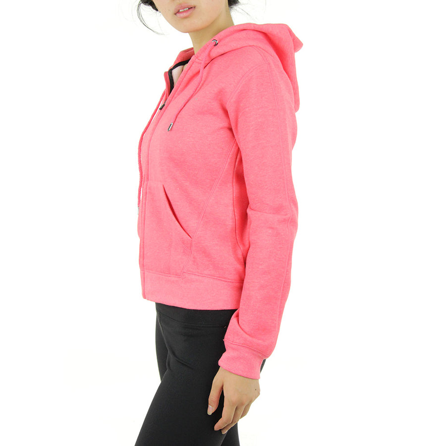 Active Fleece Women's Hoodie/Coral