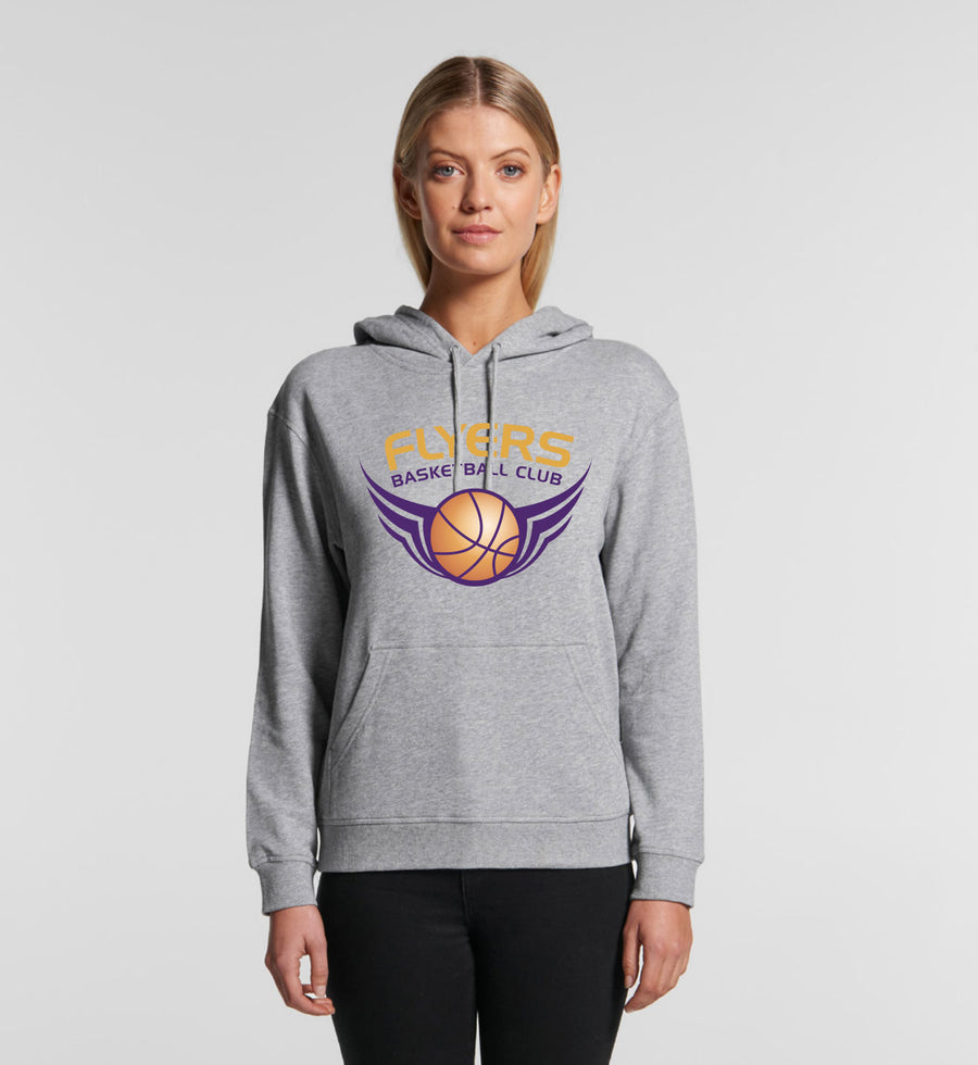 Flyers Team Womens Heavy Weight Hoodie