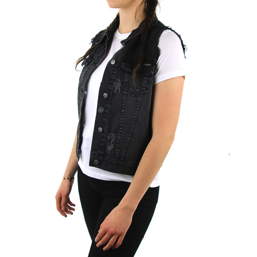 Closer Denim Vest