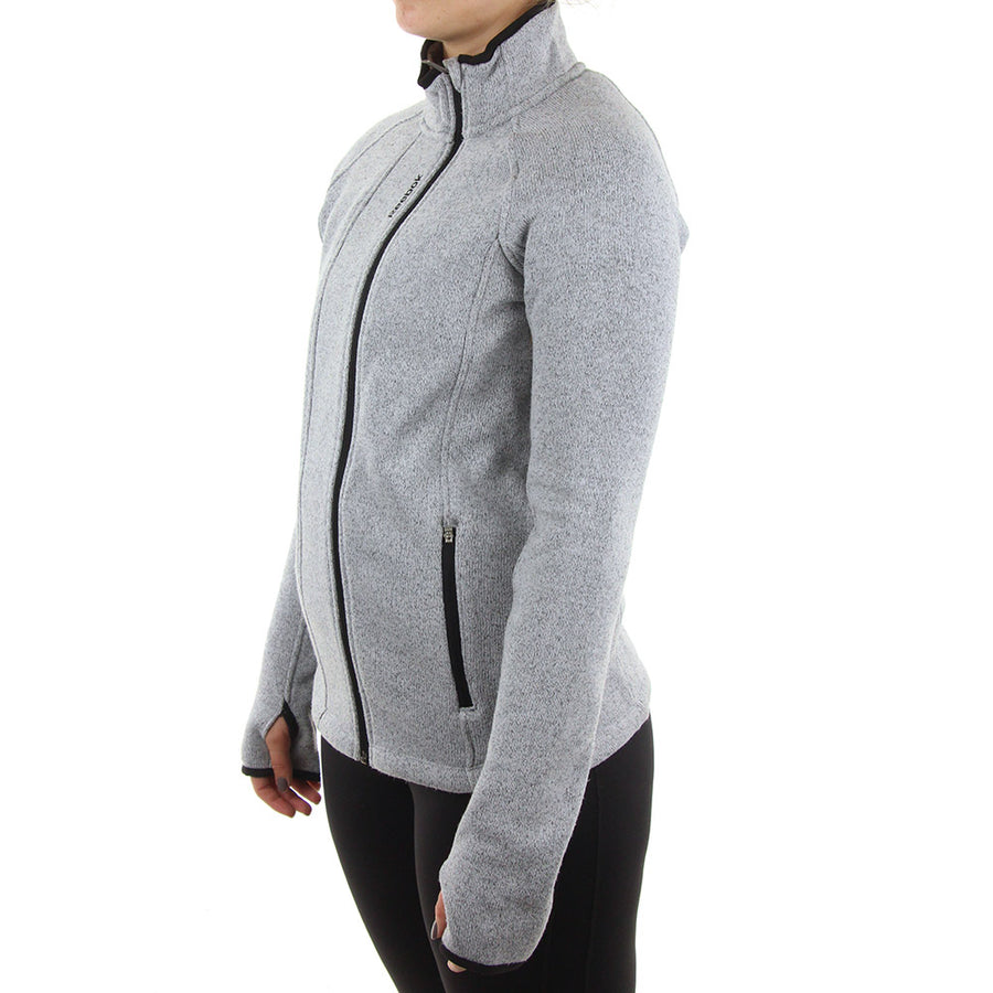 Sky High Alpine Sweater Women's Jacket/Grey Heather